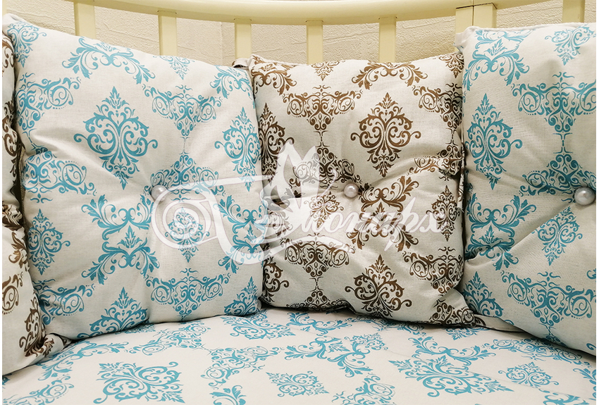 Иваново одеяло в детскую кроватку для новорожденных